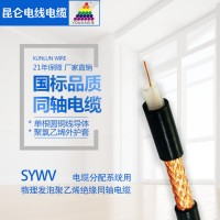 SYWV聚乙烯绝缘同轴电缆
